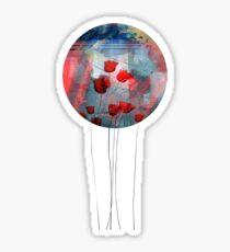 Tulipanes red Sticker