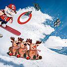 Shredding Santa by Randy Turnbow