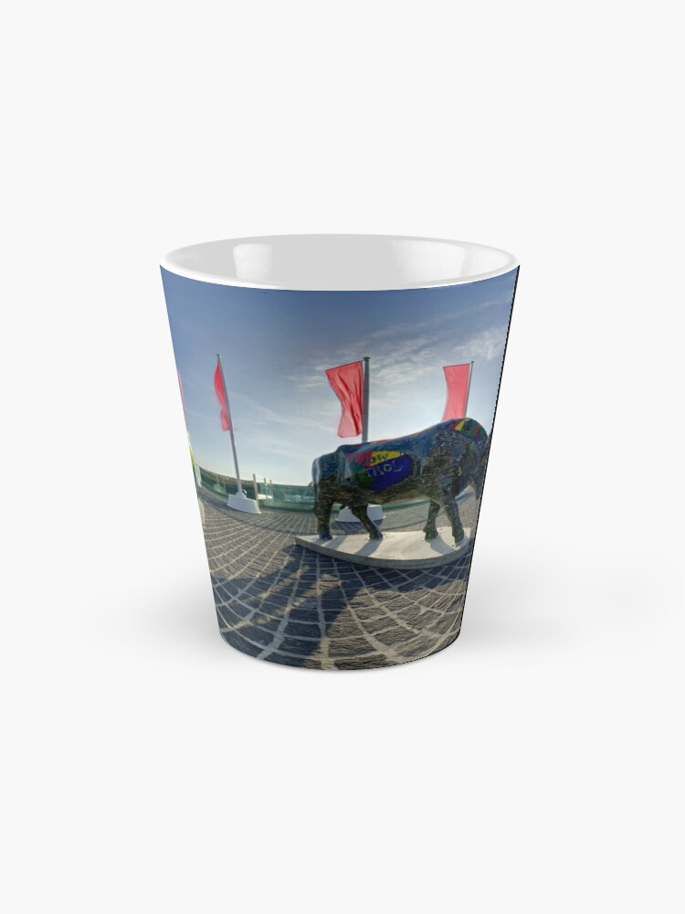 Alternate view of Two Cows on Parade, lower - Ebrington Square, Derry Mug