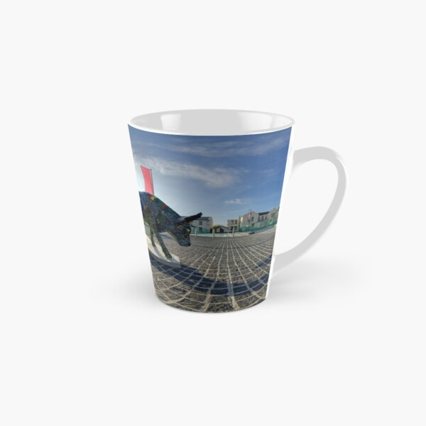 Two Cows on Parade, lower - Ebrington Square, Derry Tall Mug