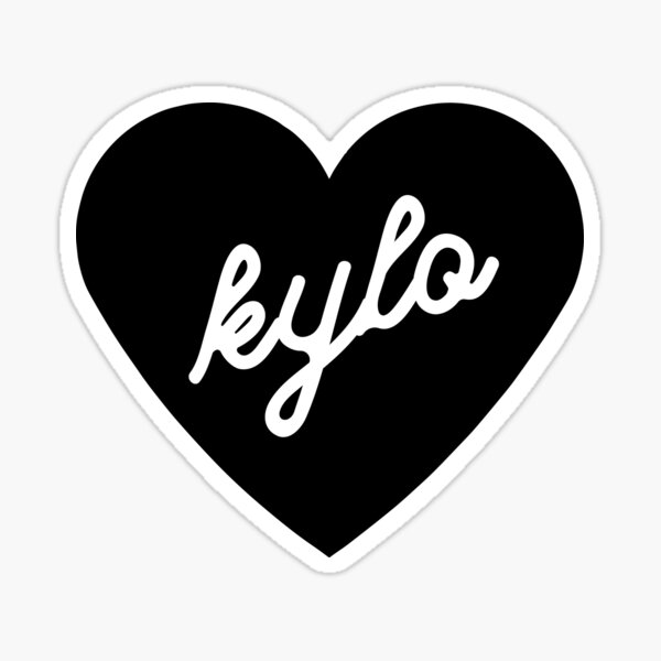 I LOVE KYLO Sticker