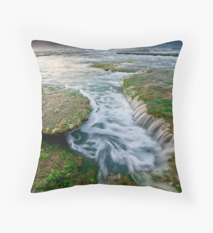 London Baths Throw Pillow