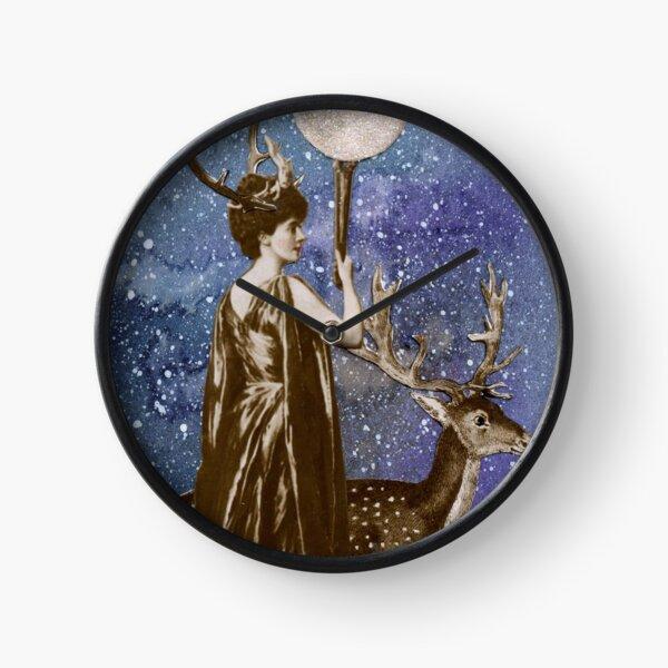 Winter Solstice Moon Goddess Clock