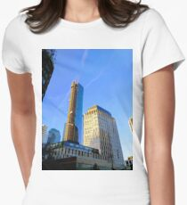 New York, NY Women's Fitted T-Shirt