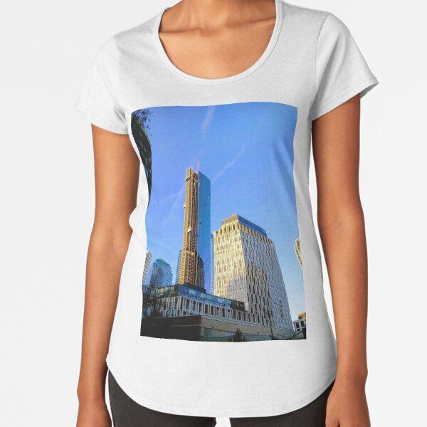 New York, NY Premium Scoop T-Shirt