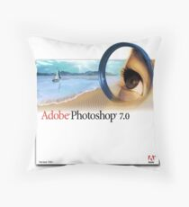 Photoshop 7.0 Throw Pillow