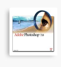 Photoshop 7.0 Canvas Print