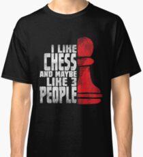 Chess Player Shirt - Funny Chess Gift Classic T-Shirt