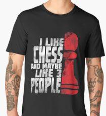 Chess Player Shirt - Funny Chess Gift Men's Premium T-Shirt