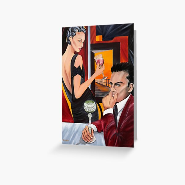 Couple Therapy Greeting Card
