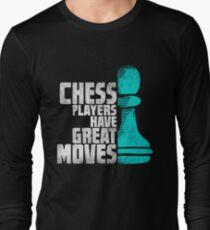 Chess Player Shirt - Funny Chess Gift Long Sleeve T-Shirt