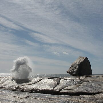 Bicheno Blow Hole by Stangus