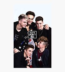 Why Don't We Photographic Print