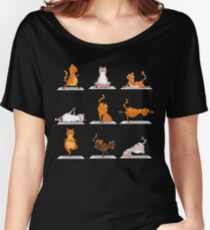 cat gym Women's Relaxed Fit T-Shirt