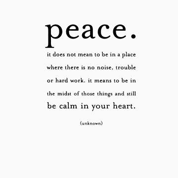 Peace by KayVee