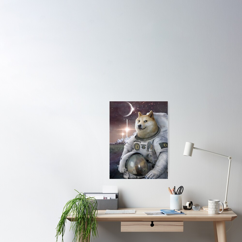 Very Astronaut 2 Poster
