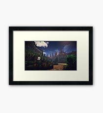 Minecraft Framed Print