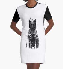 Wolftree Graphic T-Shirt Dress