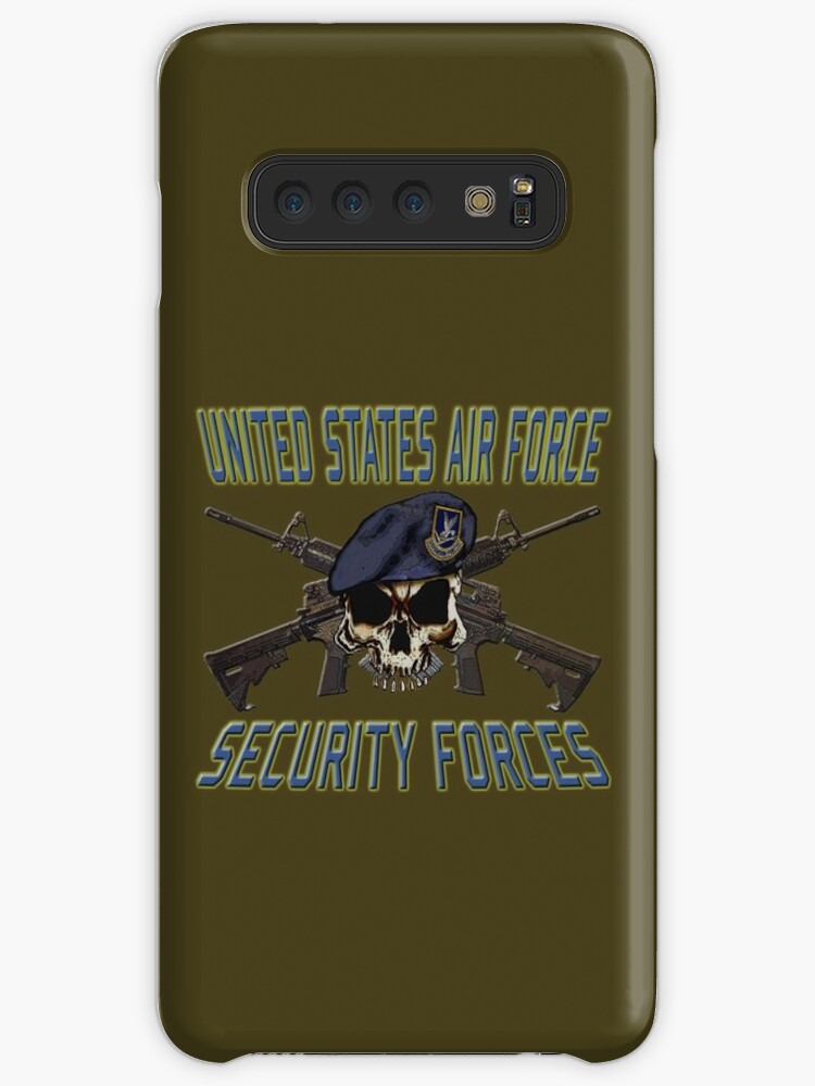 'USAF Security Forces' Case/Skin for Samsung Galaxy by Larry Oates