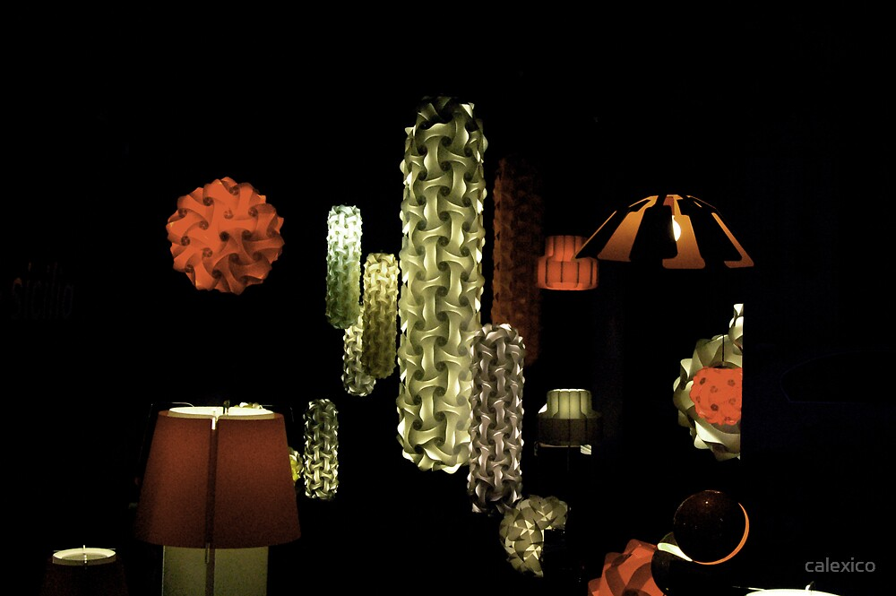 space lamp by calexico