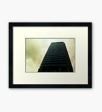 Big City Skyline........the pastel set  # two Framed Print