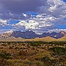 Rain Clouds Over Organ Mountains by Larry Costales
