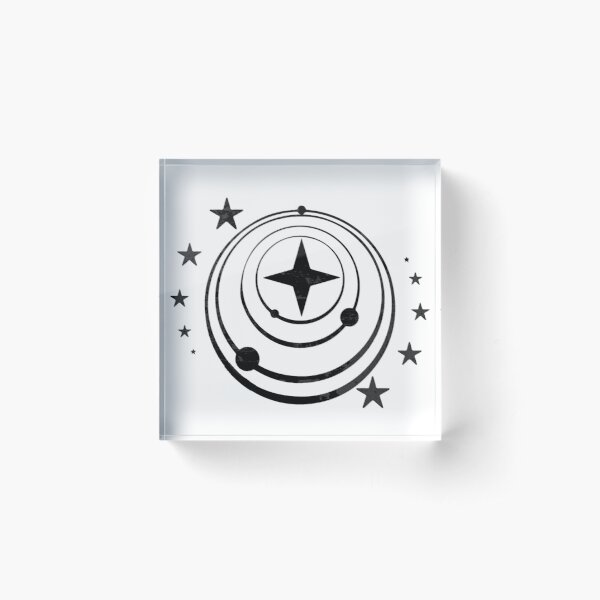 Elite dangerous - Federation Acrylic Block
