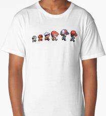 Pokemon evolution Long T-Shirt