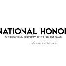 national honor - james monroe by razvandrc