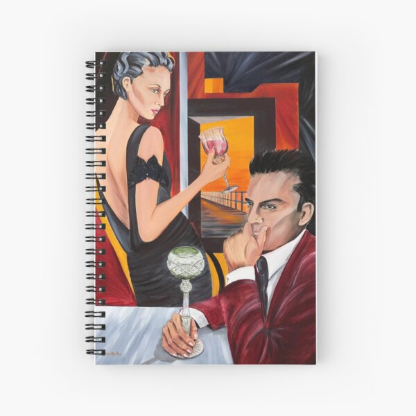 Couple Therapy Spiral Notebook
