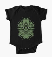 TRADITIONAL CELTIC WICCA PAGAN GREENMAN T-SHIRT AND MERCHANDISE One Piece - Short Sleeve