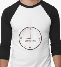 It is the Coffee time - I love Coffee Men's Baseball ¾ T-Shirt