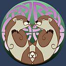 Dyfrgwn | Otters by Aakheperure