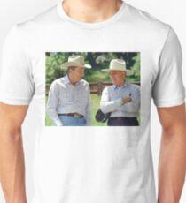 Ronald Reagan and Mikhail Gorbachev Unisex T-Shirt
