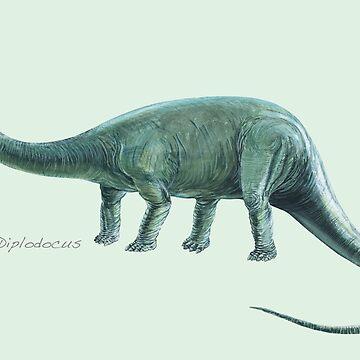 Diplodocus by lewisroland
