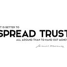 spread trust - james monroe by razvandrc