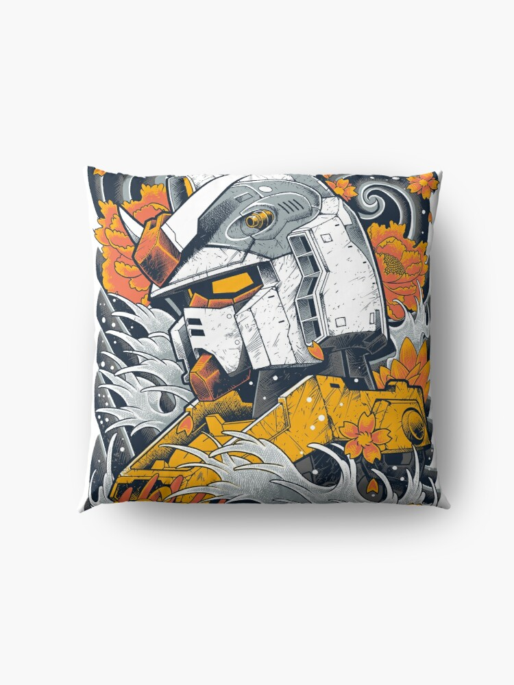 Alternate view of Gundam Floor Pillow