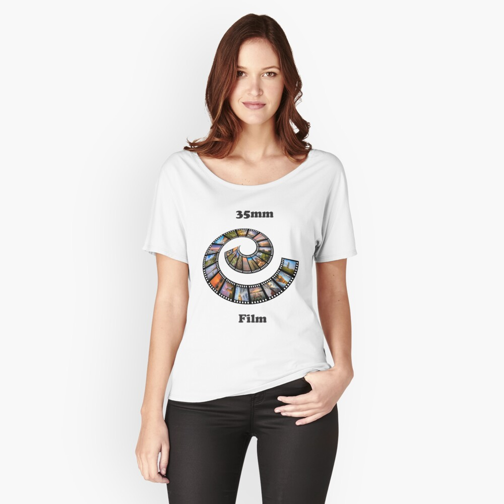 35mm Film Loose Fit T-Shirt