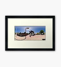 Chinese Gateway - Full 360° Panorama Framed Print