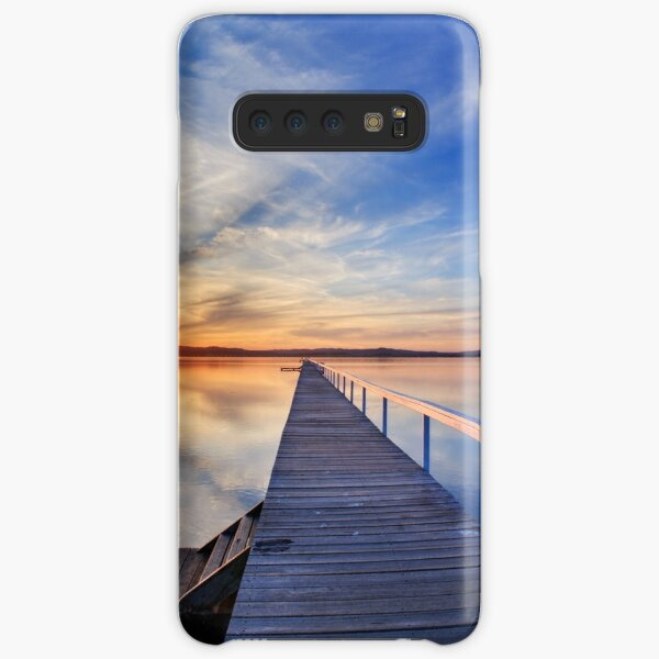 Long Jetty sunset Samsung Galaxy Snap Case