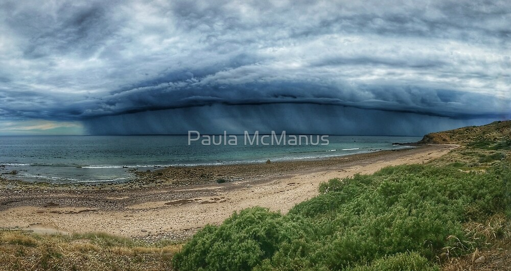 Barrel Storm front by Paula McManus