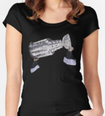 Hoisting the Cup Women's Fitted Scoop T-Shirt