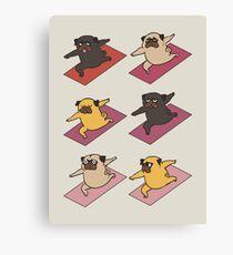 Pugs Warrior  Canvas Print