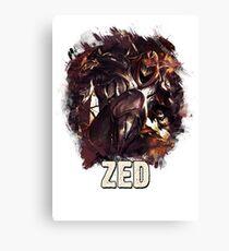 ZED - League of Legends Canvas Print