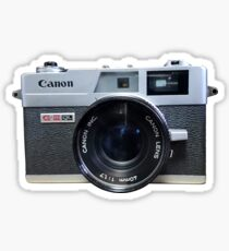 canon, camera Sticker