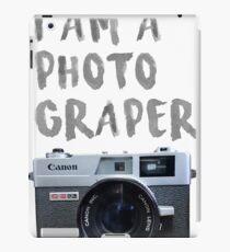 canon, camera iPad Case/Skin