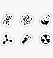 Science Vector Icons Sticker