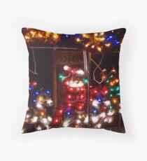 Christmas Carosel Throw Pillow
