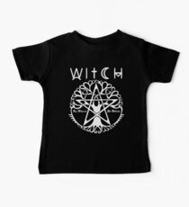 WITCH - WICCA, PAGAN AND WITCHCRAFT T SHIRT AND MERCHANDISE Baby Tee