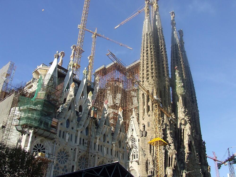 Sagrada Familia Church Barcelona by David Fulton